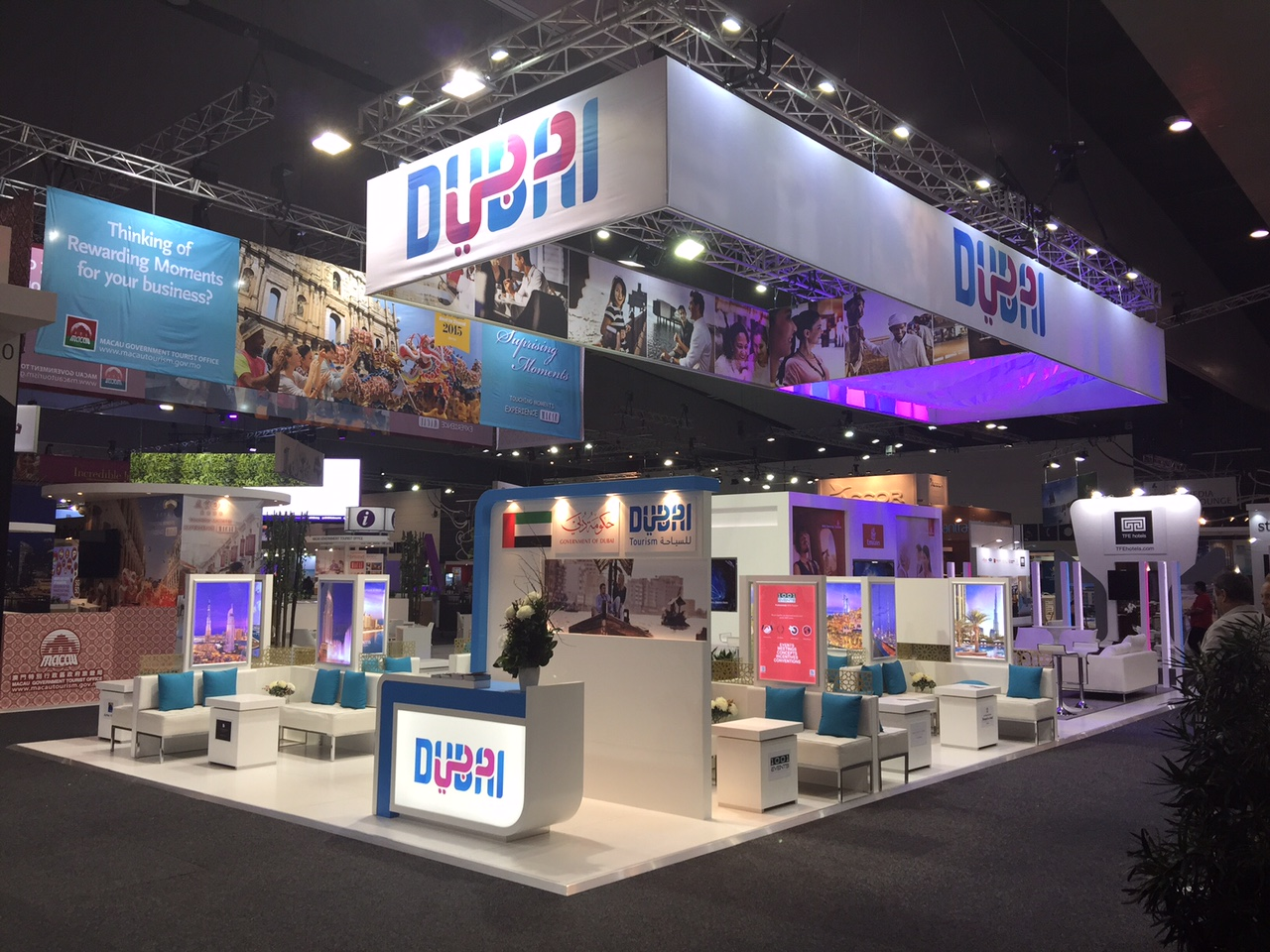 Exhibition Stand Wraps : Dubai tourism exhibition stand u archisign